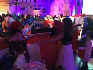 TechWomen 2016 Flag Parade