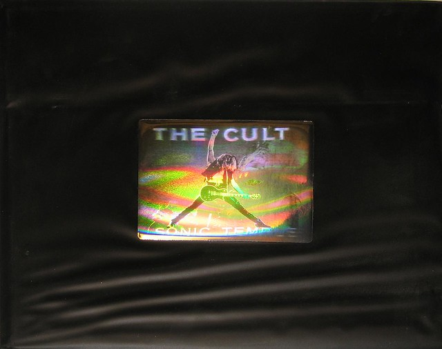 The Cult Sonic Temple 3-D Hologram PVC Wallet