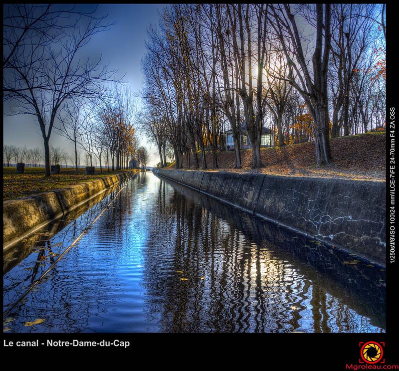 Le canal - Notre-Dame-du-Cap