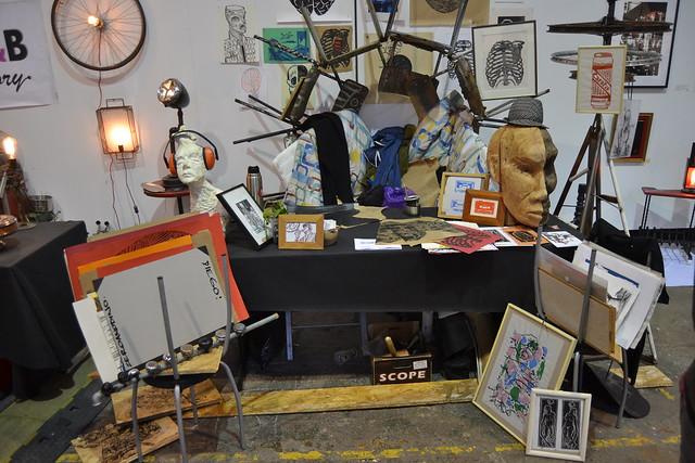 La Braderie de l'Art de Liège, depuis 2010 Une organisation de l'asbl ETNIK'Art à Liège et d'Art Point M, l'originale qui se tient à Roubaix depuis 1991