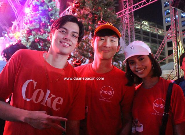 Coke Cola Tagahatid Pasko Christmas Concert LA Aguinaldo Richard Juan Model