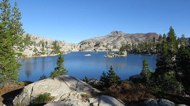 Backpacking to American Lake