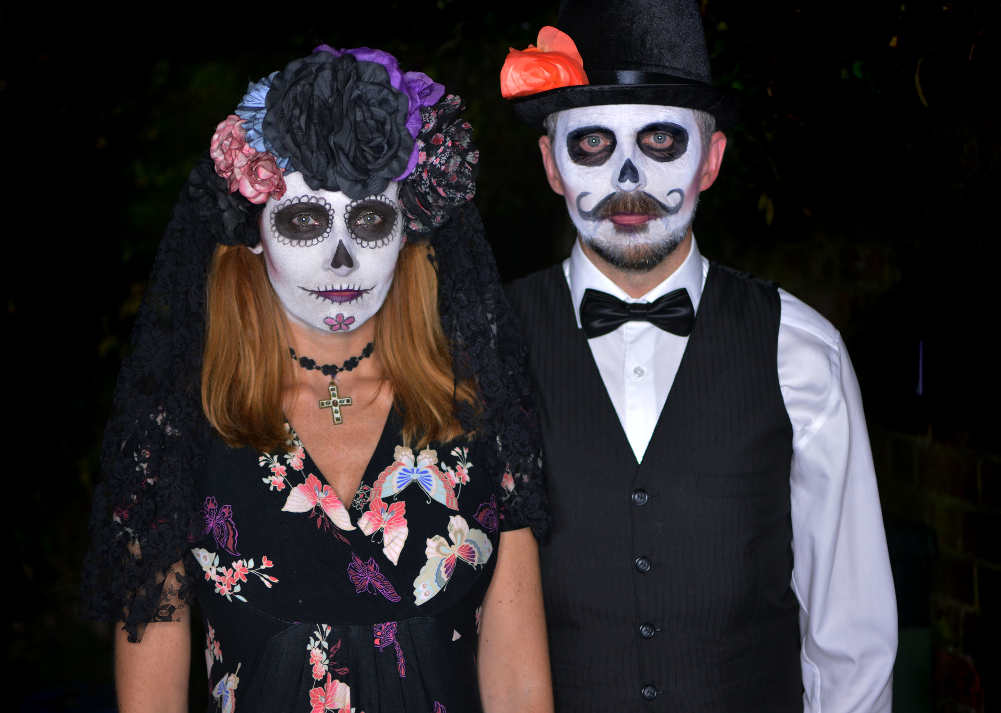 Mexican Day of the Dead Halloween costumes