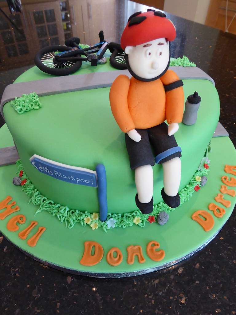 Cycling Cake Rachael Ince Flickr