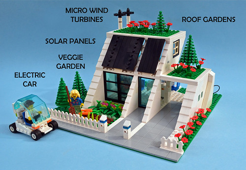 Eco Home On Lego Ideas Check It Out Yo My Futuristic