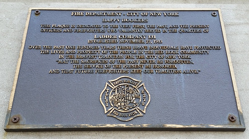 Ladder 131 centennial plaque | by Hobo Matt