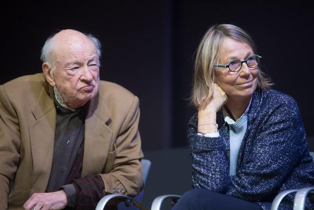 Edgar Morin et Françoise Nyssen