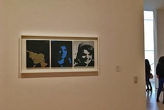 SFMoMA - Andy Warhol Jackie Triptych