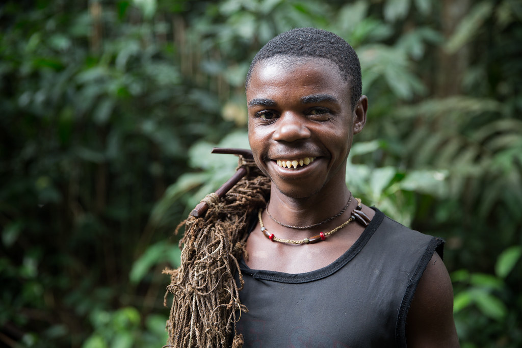 Bayaka pygmies, Central African Republic | Flickr Pygmy People Teeth
