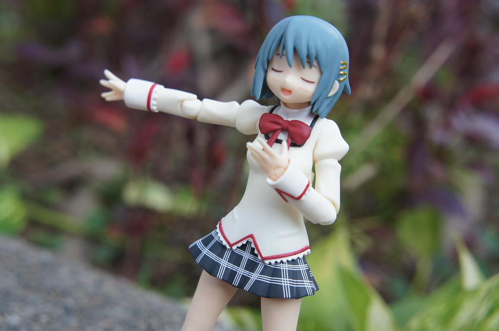 Figma Miki Sayaka (Madoka Magica) | Miki Sayaka Cute, tomboy… | Flickr
