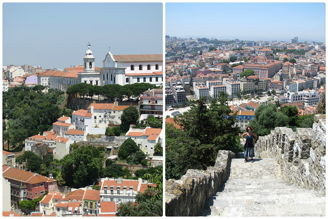 Views from the castle, Lisbon