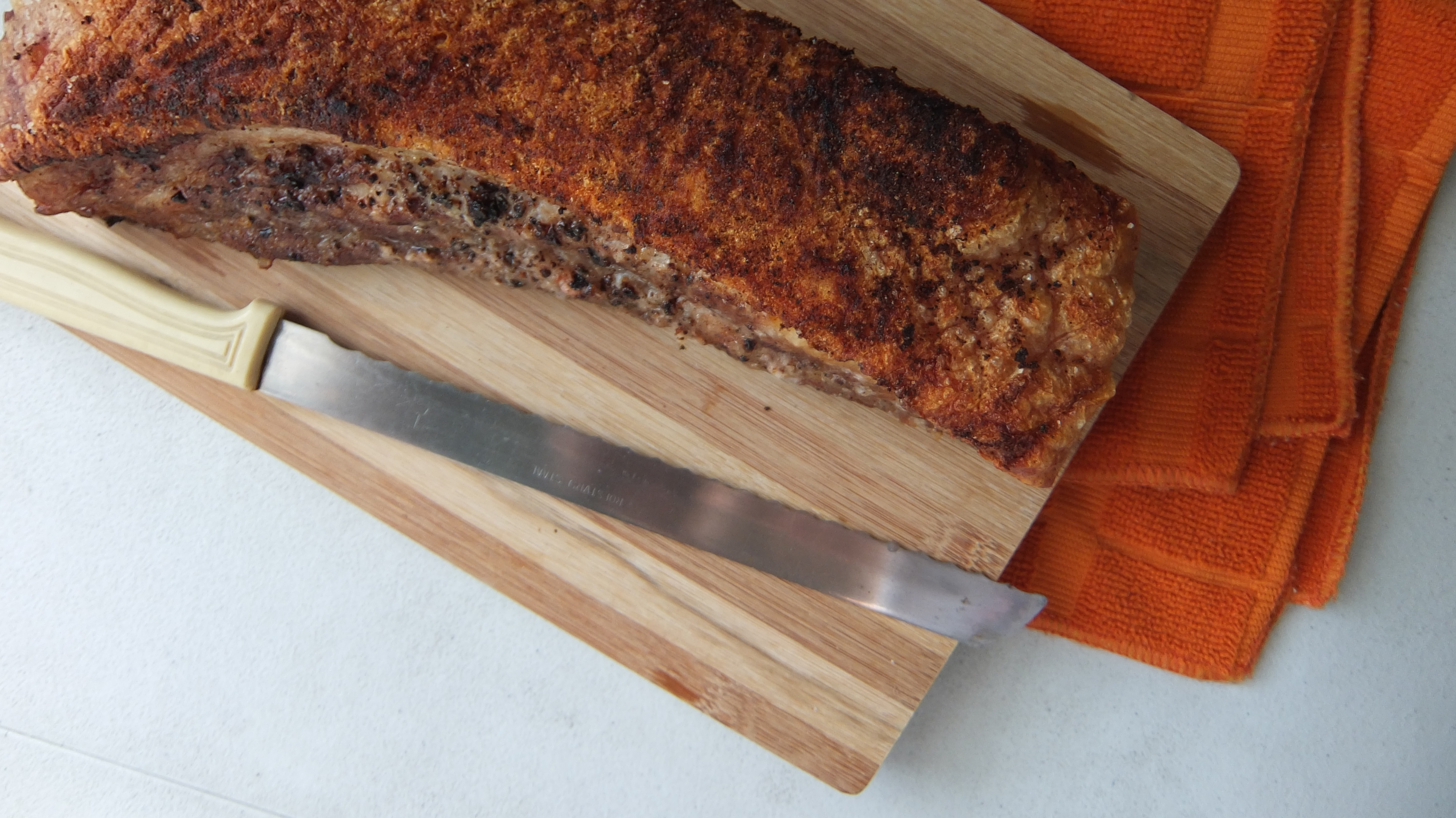 Crispy Pork Belly Roast