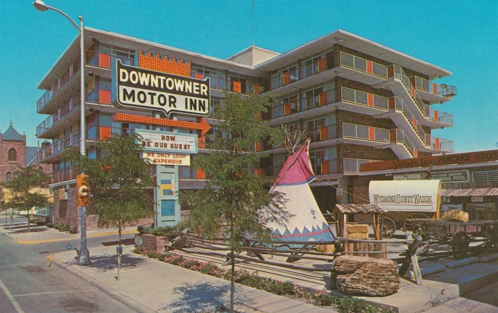 Downtowner Motor Inn - Cheyenne, Wyoming