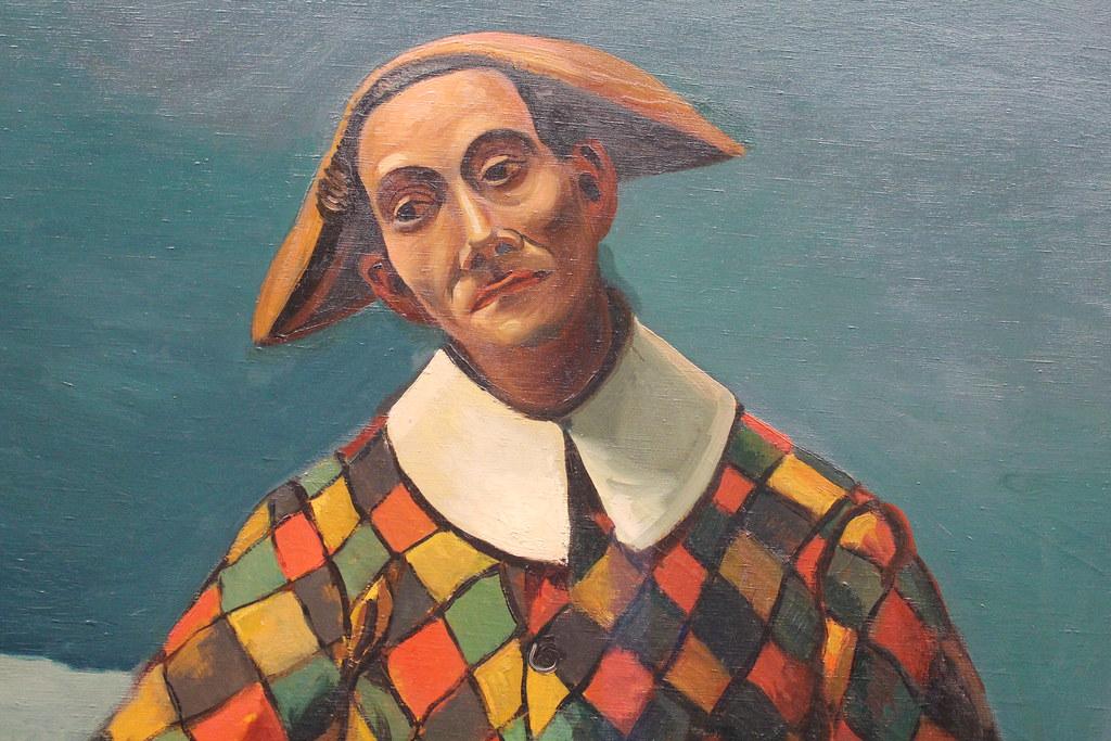 Arlequin et Pierrot (detail)   André Derain (1880-1954) Arle…   Flickr