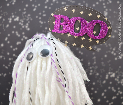 Jen Carter Ghost Boo Stick Closeup 1