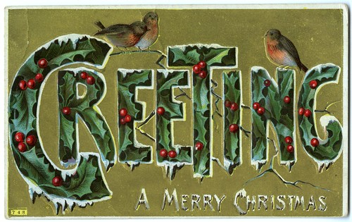 1910 Christmas Greeting (front) | by Community Archives of Belleville & Hastings County