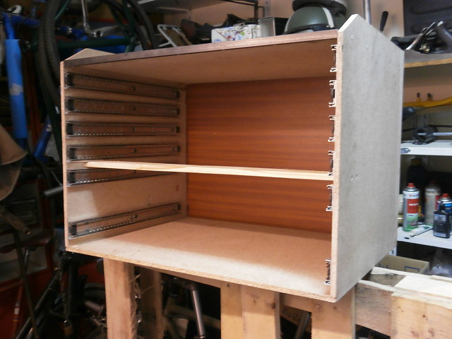 DIY particle board toolchest