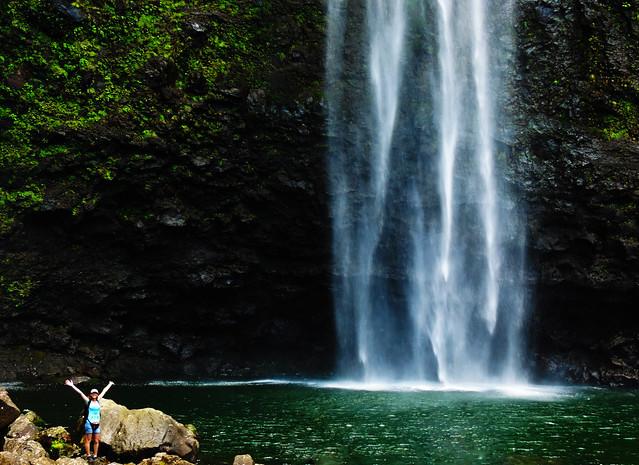 Hanakapi'ai Falls, Kauai, Hawaii