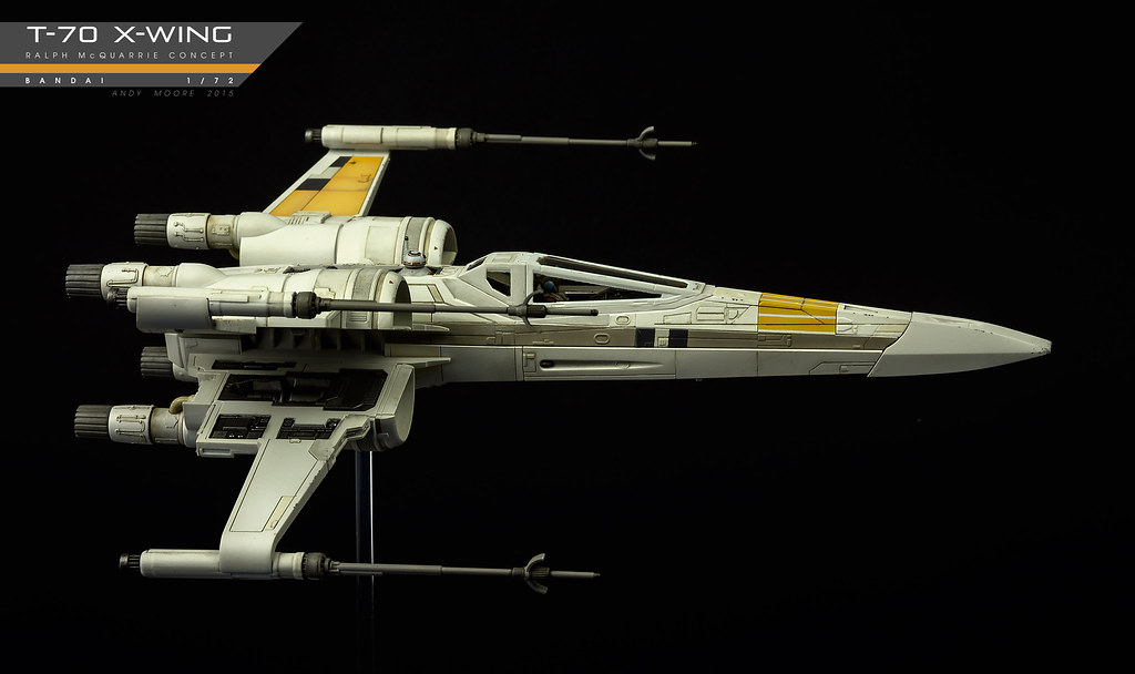 ... Bandai T 70 Ralph McQuarrie Scheme | By Andy R Moore