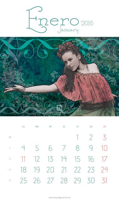 2016 Calendar - Calendario