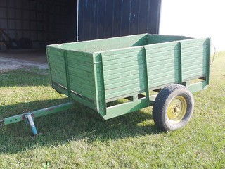 5 1/2x8' single axle trailer w/box bed | by thornhill3