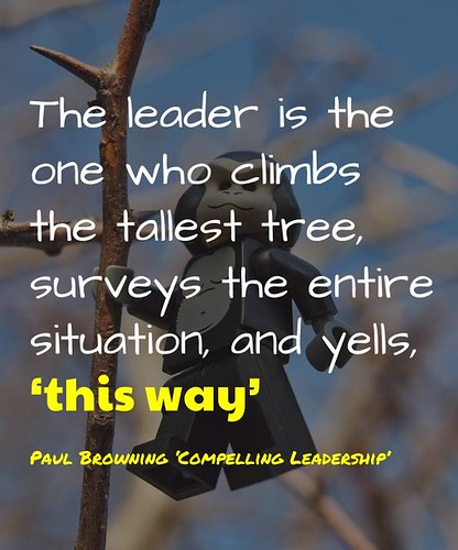 Compelling Leadership @PaulDBrowning | by mrkrndvs