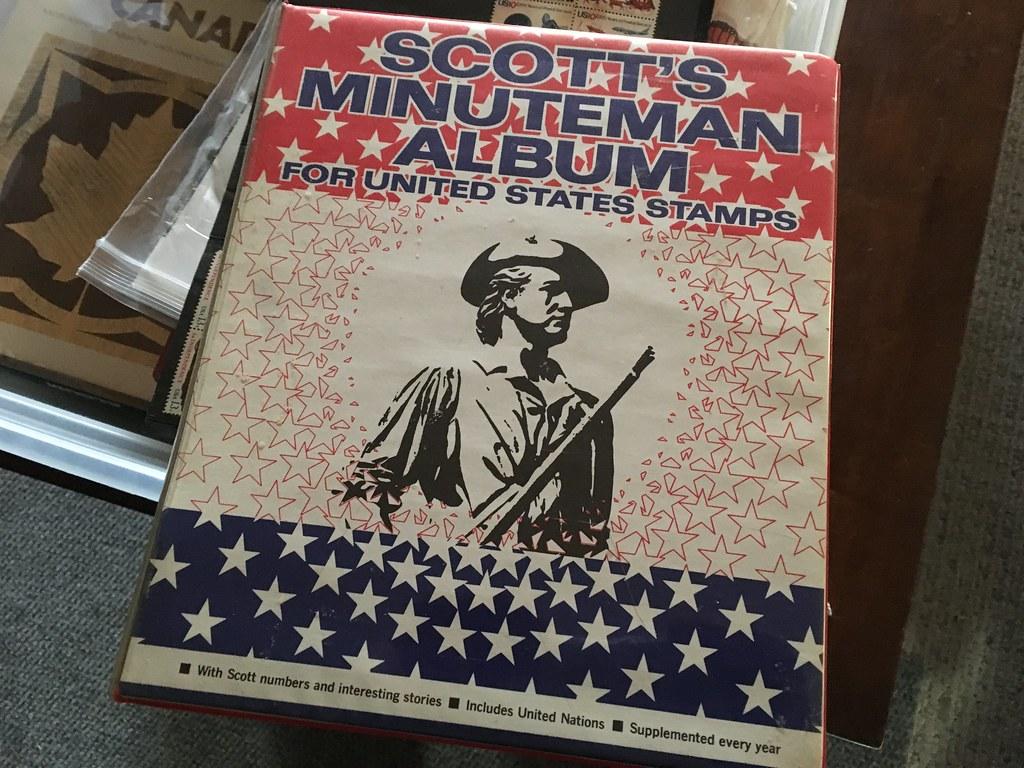 First Stamp Album | Last time I saw him, my step-son Travis