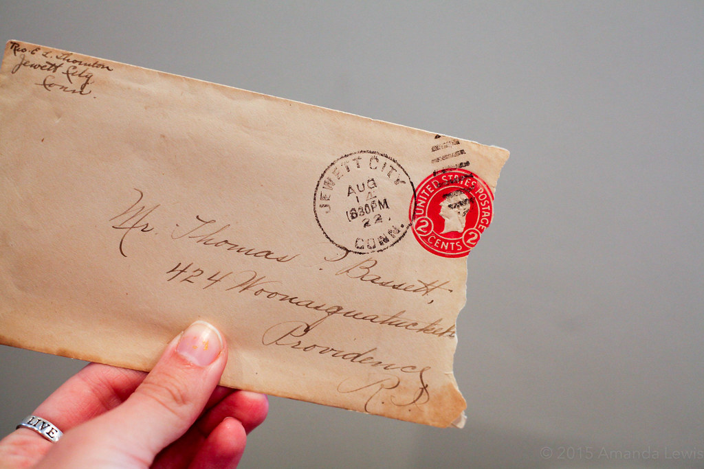 Aug 13 1922 Envelope