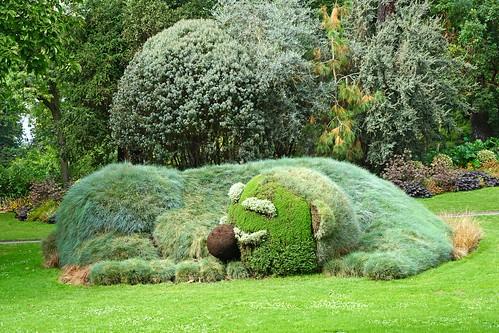 La dormanron de c ponti jardin des plantes nantes flickr for Jardin des plantes nantes