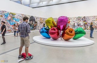 Tulips Jeff Koons The Broad Museum Los Angeles 01 | by Eva Blue