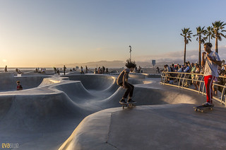 venice beach skateboarding 14 | by Eva Blue