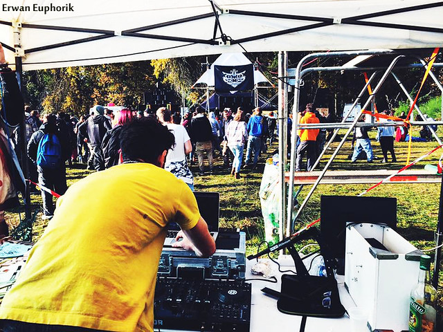 Euphorik sound system free party copie