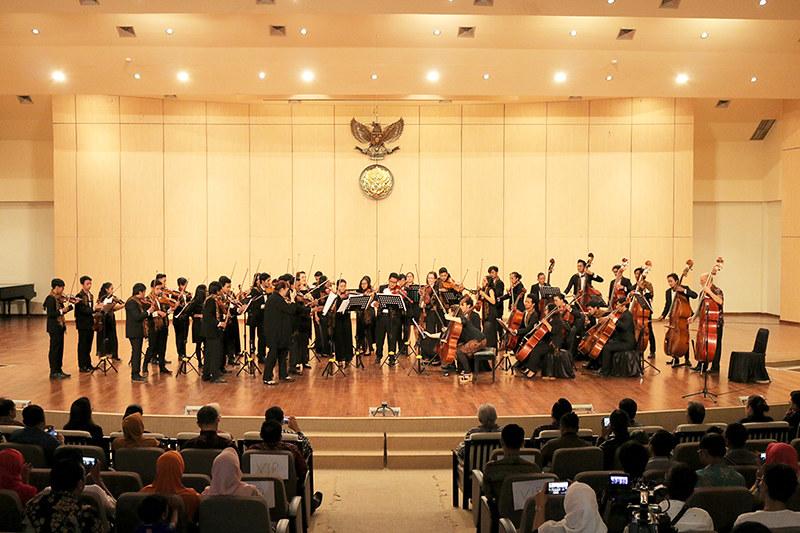 Melbourne Symphony Orchestra Yogyakarta Music Camp