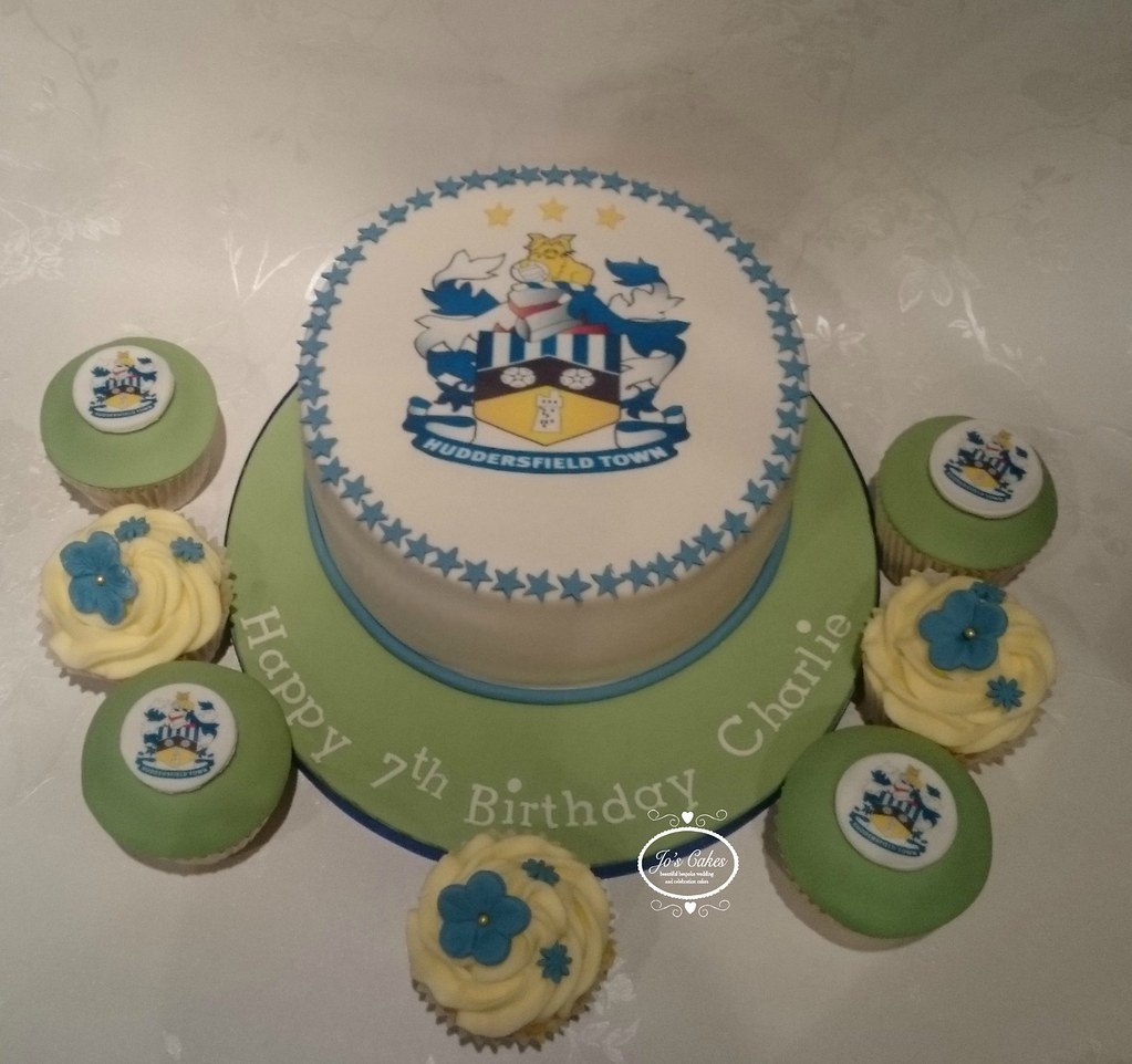 Huddersfield Town Football Club Themed Birthday Cake Flickr