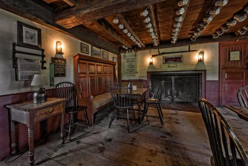 The Old Bar Room Longfellow S Wayside Inn A Nationally