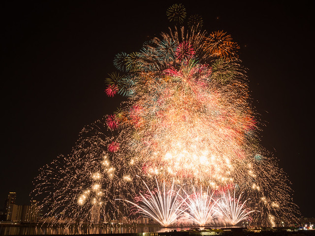 Yodogawa Firework Festival 2015 - 2 Opening