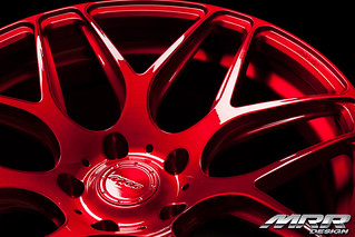 MRR_FS01-Brushed_Anodized_Red | by MRR WHEELS
