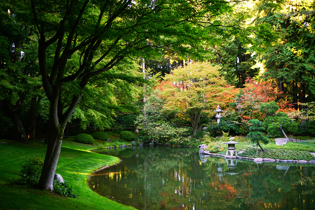 Autumn Zen Garden - Nitobe Memorial Garden | Japanese Zen Ga… | Flickr