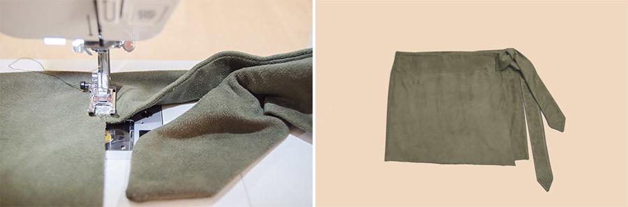 DIY Falda pareo · DIY Wrap skirt · Fábrica de Imaginación · Tutorial in Spanish