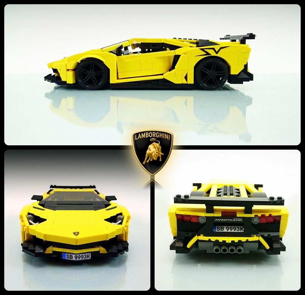 Lamborghini Huracan Legos Tutorials Autocar