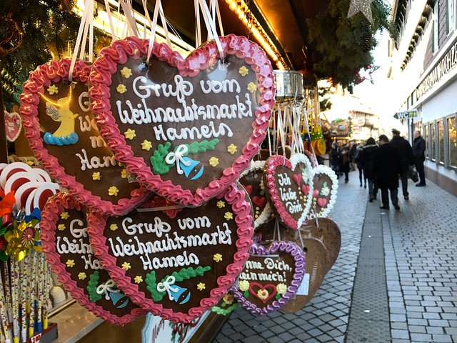Hamelin Christmas market Germany  30