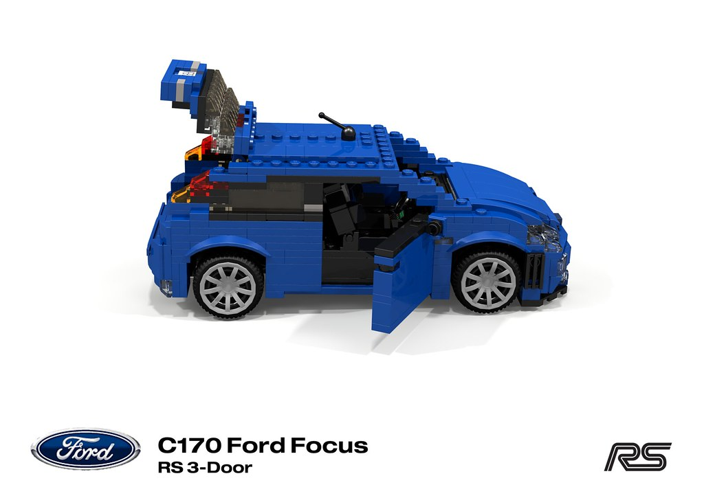 Ford Focus Rs C170 2002 Codenamed Cw170 During Its Dev Flickr