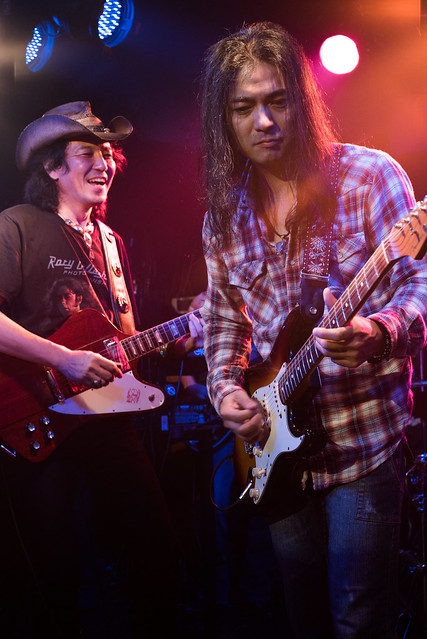 Rory Gallagher Tribute Festival - jam session at Crawdaddy Club, Tokyo, 22 Oct 2016 -00512