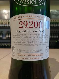 SMWS 29.200 - Smoked Salmon Candy
