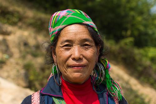 Hmong Lady in Sapa, Vietnam