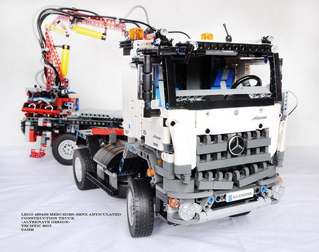Lego Technic 42043b Mercedes Benz Articulated Construction Flickr