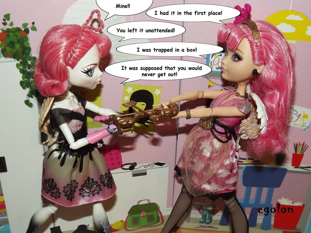 new post c a cupid dolls comparison monster high vs ev flickr