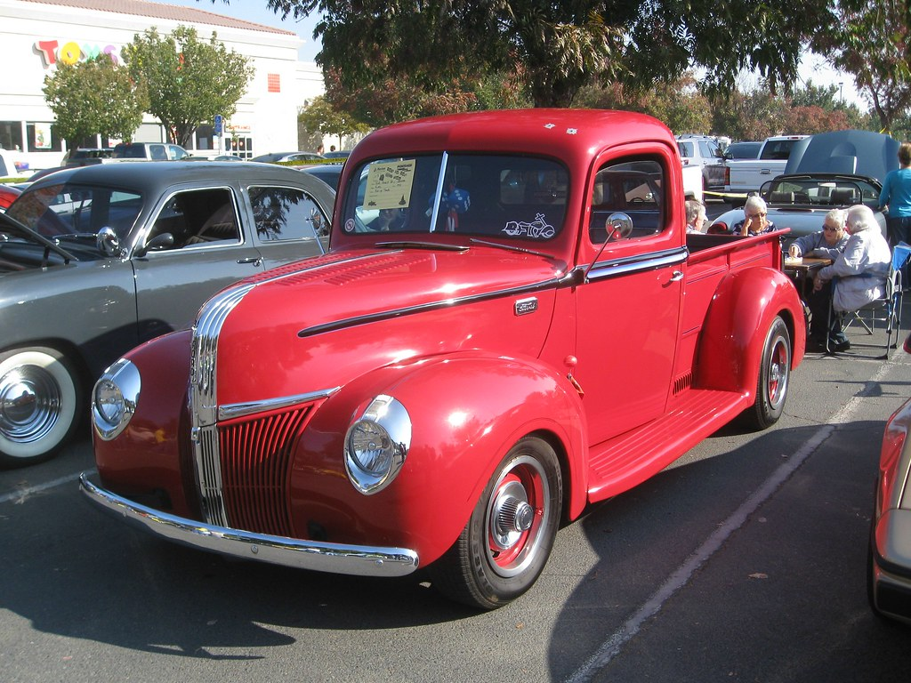 1941 Ford Pickup Toys For Tots Car Show Clovis Ca Bob The Real Custom Hot Rod By Deal