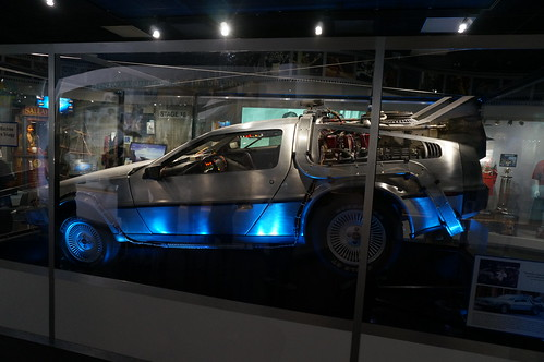 "Universal Studios: ""Hero A"" DeLorean from Back to the Future 