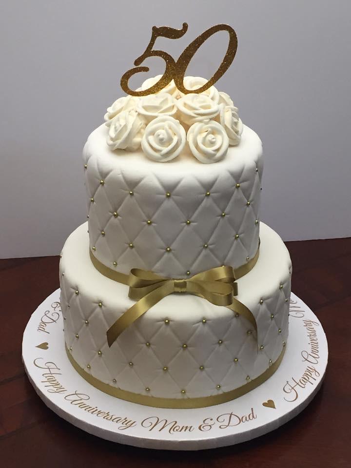 50th Wedding Anniversary Cake Mom Dad Cake Lady Wpb Flickr